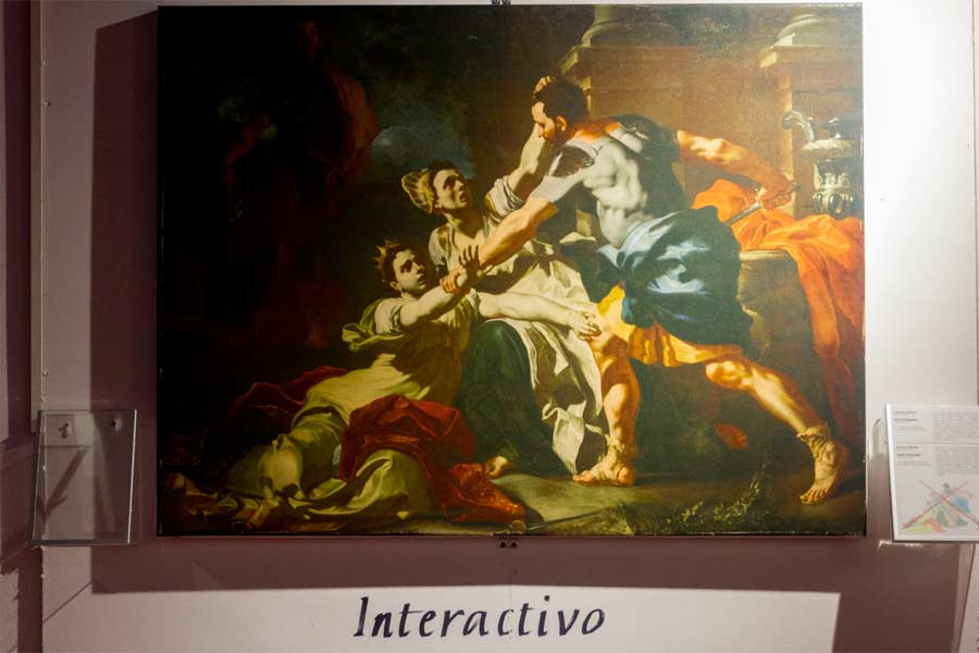 Interactivo, immagine in primo piano evidenzata